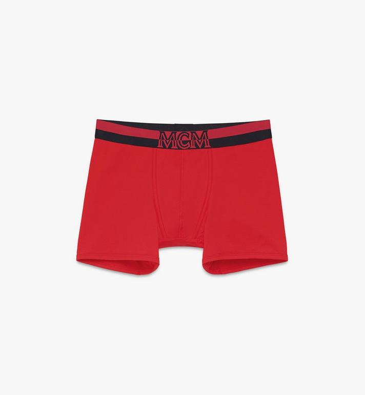 MCM Men's 1976 Long Boxer Briefs Red MHYASBM01RE00M Alternate View 1