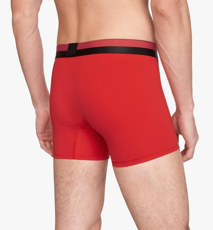 MCM Men's 1976 Long Boxer Briefs Red MHYASBM01RE0XS Alternate View 5