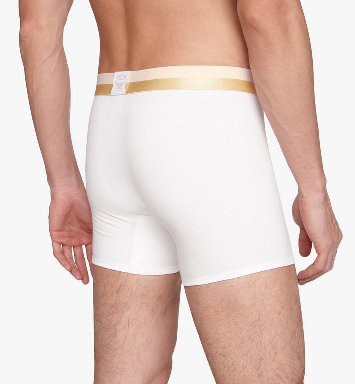MCM 男士 1976 長款緊身四角褲 White MHYASBM01WT00L Alternate View 5
