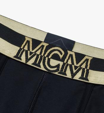 MCM 男士 1976 短款緊身四角褲 Black MHYASBM02BK00L Alternate View 3