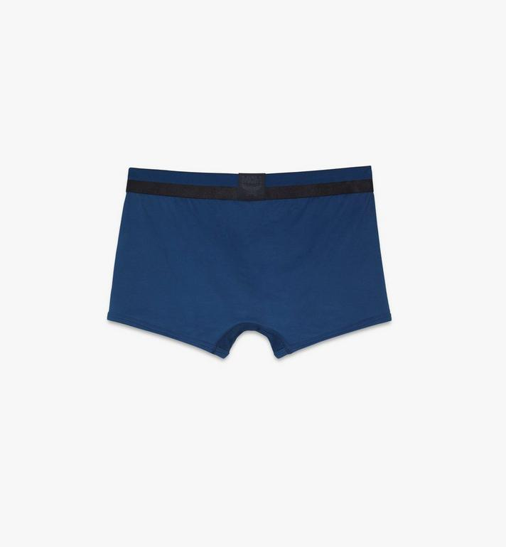 MCM Men's 1976 Short Boxer Briefs Blue MHYASBM02LU00L Alternate View 2