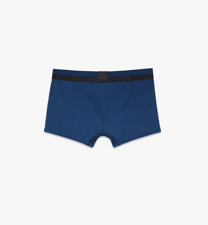 MCM 男士 1976 短款緊身四角褲 Blue MHYASBM02LU00S Alternate View 2