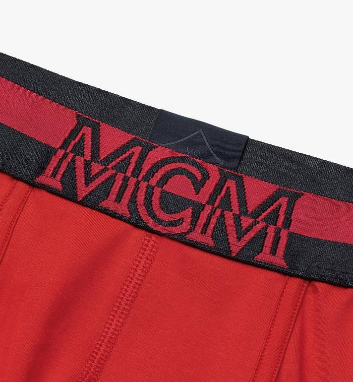 MCM Men's 1976 Short Boxer Briefs Red MHYASBM02RE00M Alternate View 3