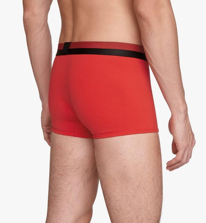 MCM 男士 1976 短款緊身四角褲 Red MHYASBM02RE00S Alternate View 5