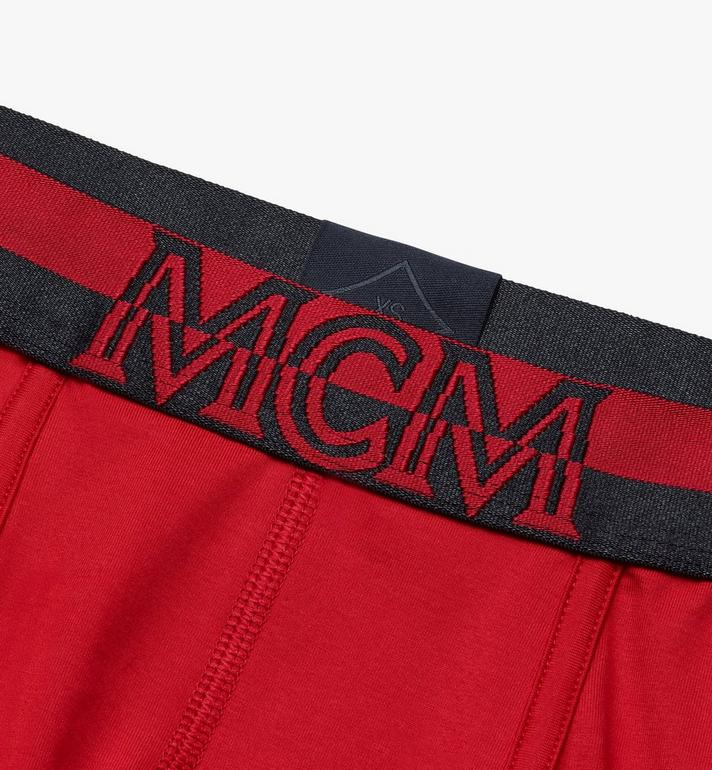 MCM Men's 1976 Short Boxer Briefs Red MHYASBM02RE2XL Alternate View 3