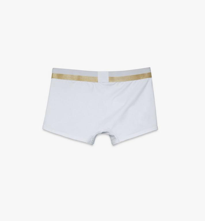 MCM 男士 1976 短款緊身四角褲 White MHYASBM02WT00L Alternate View 2