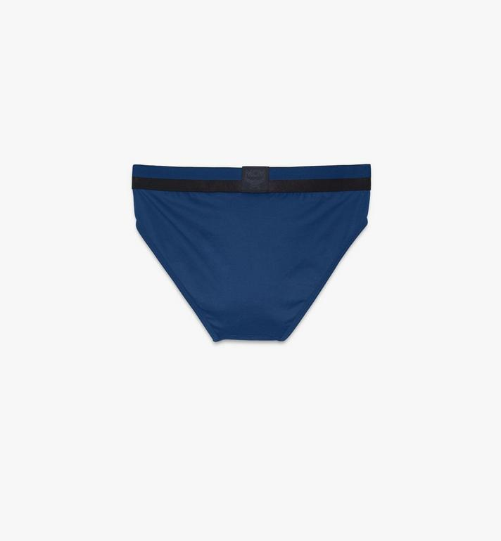 MCM Men's 1976 Logo Briefs Blue MHYASBM03LU00L Alternate View 2
