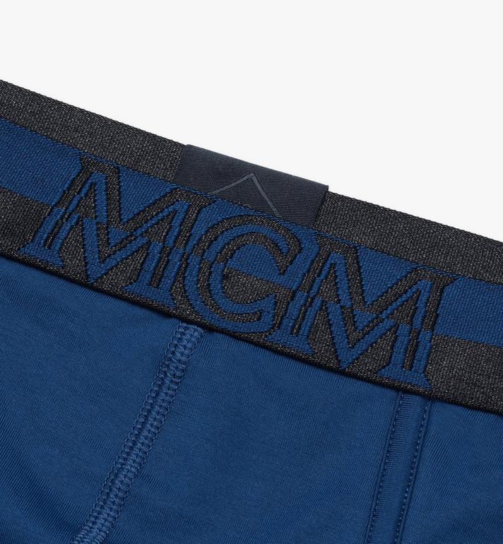 MCM Men's 1976 Logo Briefs Blue MHYASBM03LU00M Alternate View 3