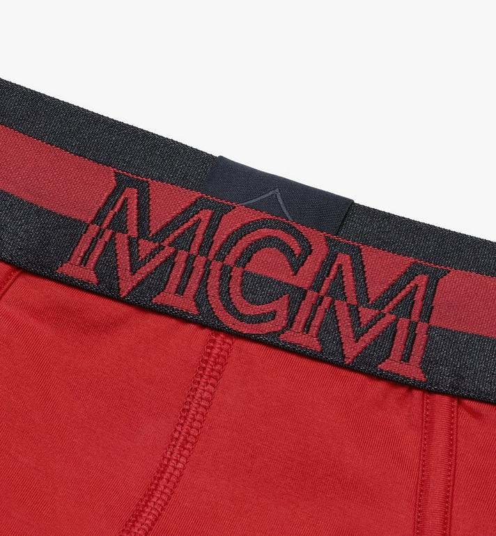 MCM Men's 1976 Logo Briefs Red MHYASBM03RE00L Alternate View 3