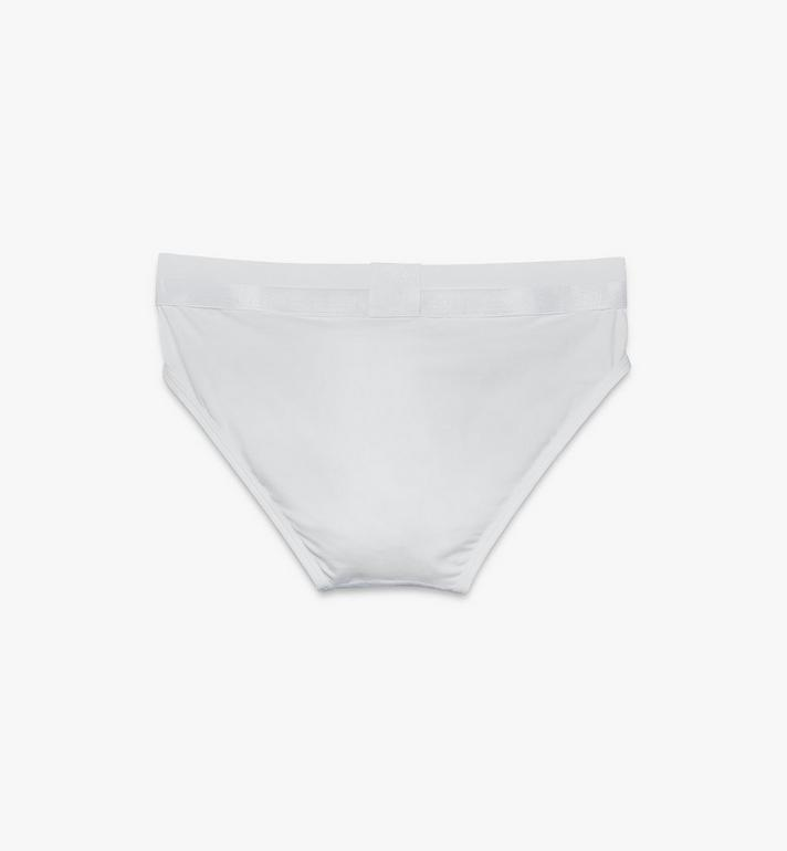 MCM Men's 1976 Classic Briefs White MHYASBM04WT0XL Alternate View 2