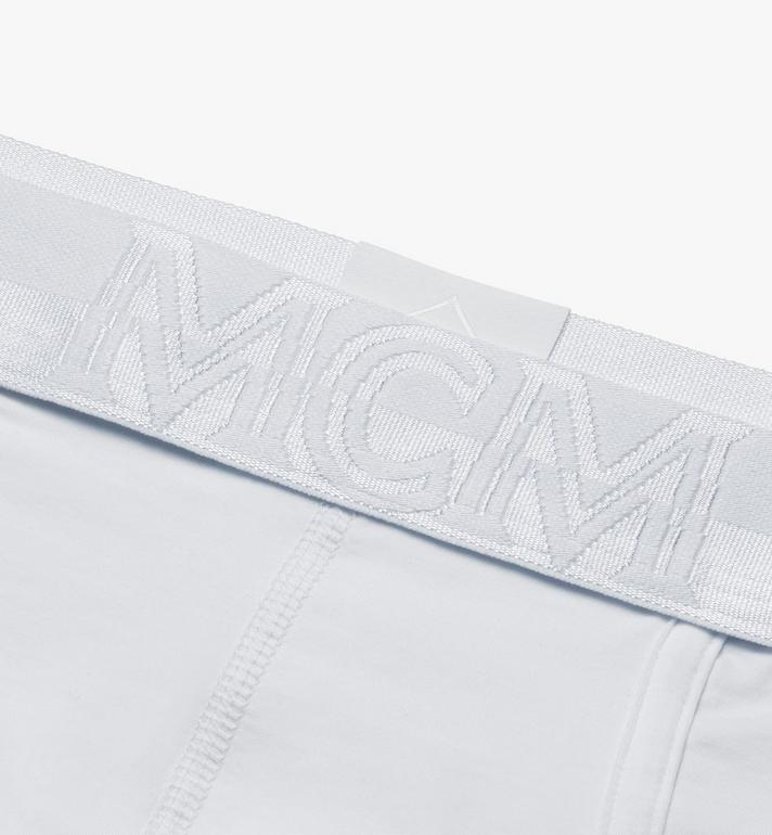 MCM 男士 1976 經典四角褲 White MHYASBM04WT0XS Alternate View 3
