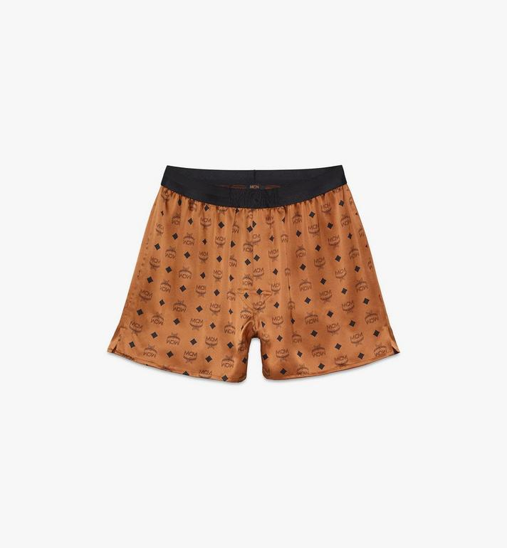MCM Men's Silk Print Boxer Shorts Alternate View