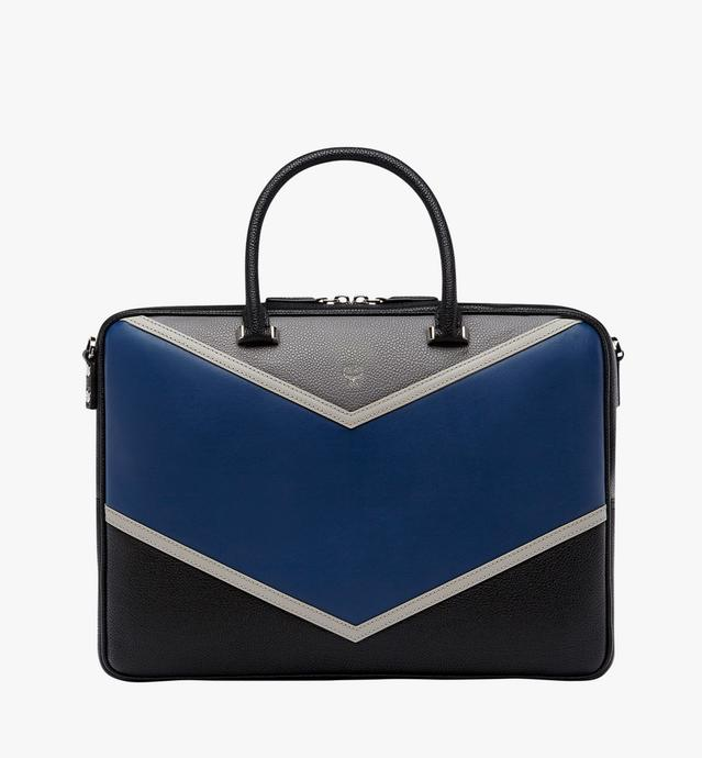 Ottomar Briefcase in Chevron Leather