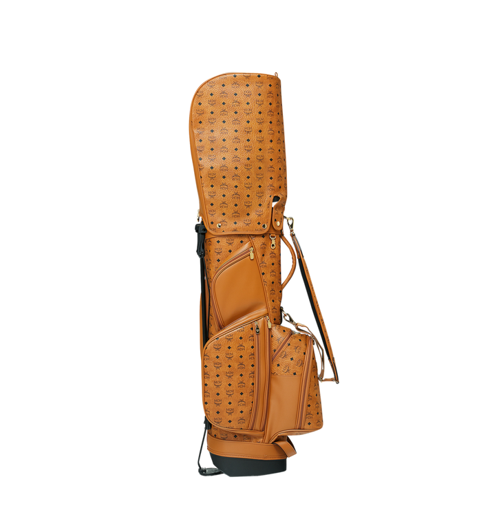 MCM Golftasche in Visetos Cognac MMG8AXL20CO001 Alternate View 3