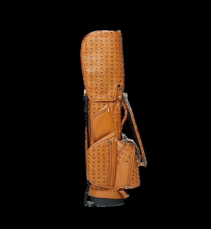MCM Sac de golf en Visetos Cognac MMG8AXL20CO001 Alternate View 3