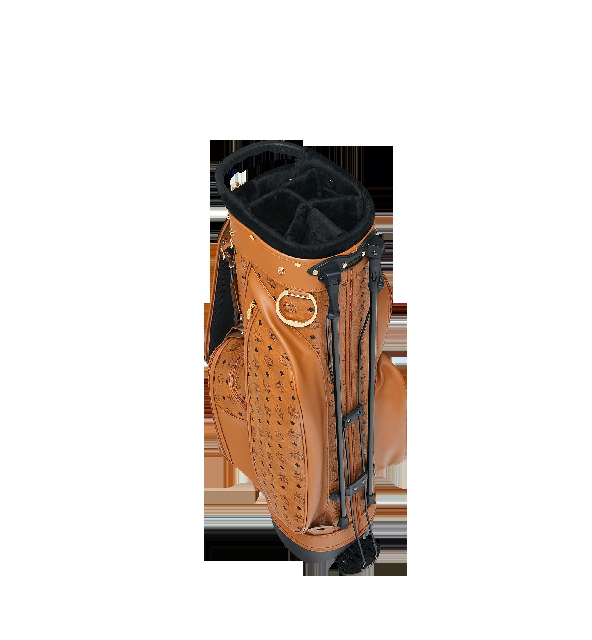 MCM Golftasche in Visetos Cognac MMG8AXL20CO001 Alternate View 5