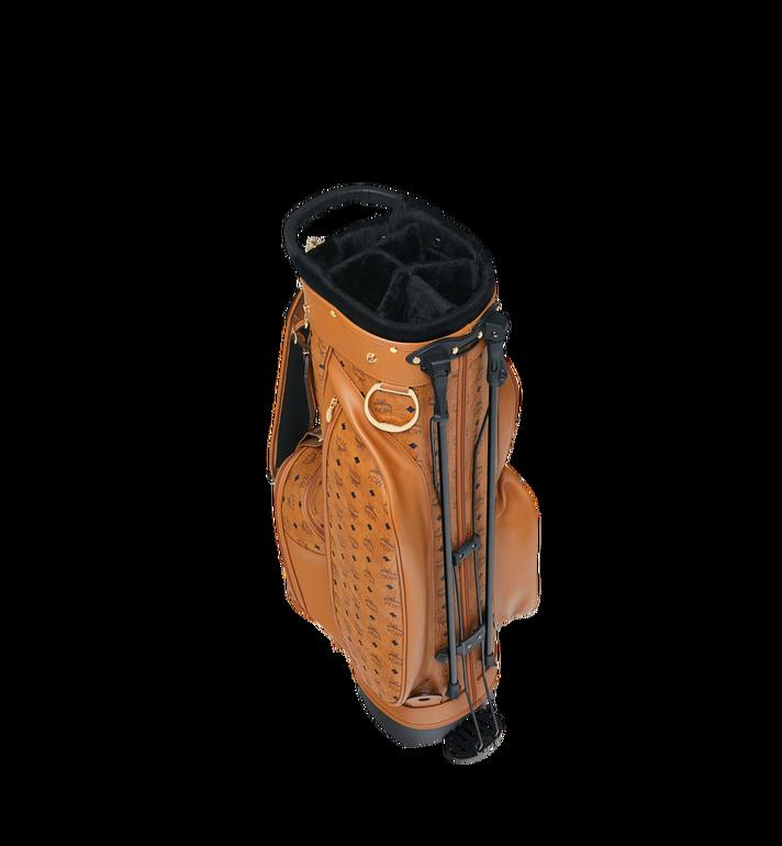 MCM Sac de golf en Visetos Cognac MMG8AXL20CO001 Alternate View 5
