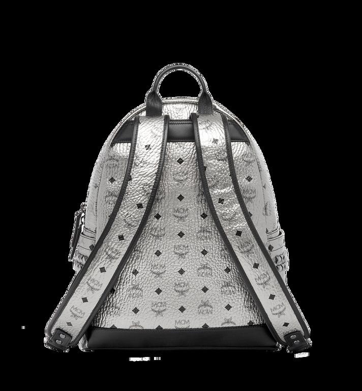 MCM Stark Side Studs Backpack in Visetos Silver MMK6AVE42SV001 Alternate View 4