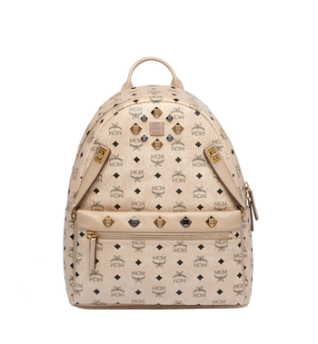 MCM Dual Stark Backpack in Visetos Alternate View