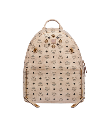MCM Dual Stark Backpack in Visetos Alternate View 5