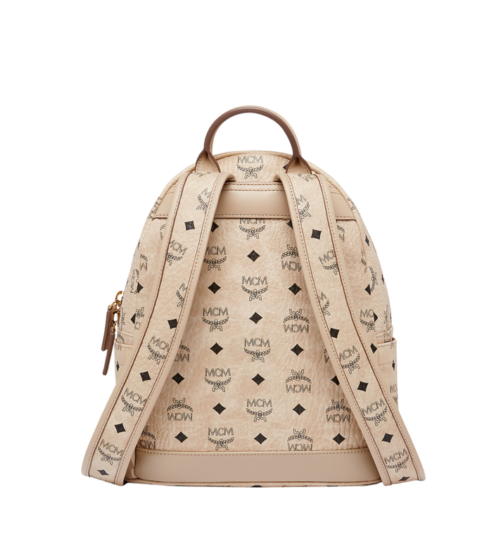 MCM Dual Stark Rucksack in Visetos Alternate View 4
