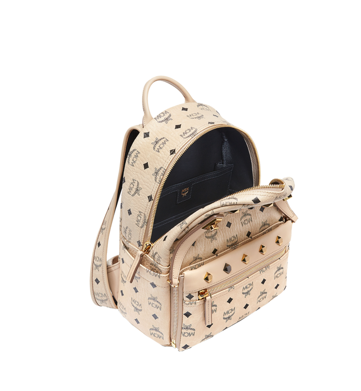 MCM Dual Stark Rucksack in Visetos Alternate View 7