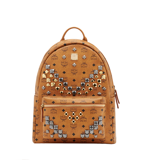 Stark M Studs Backpack in Visetos