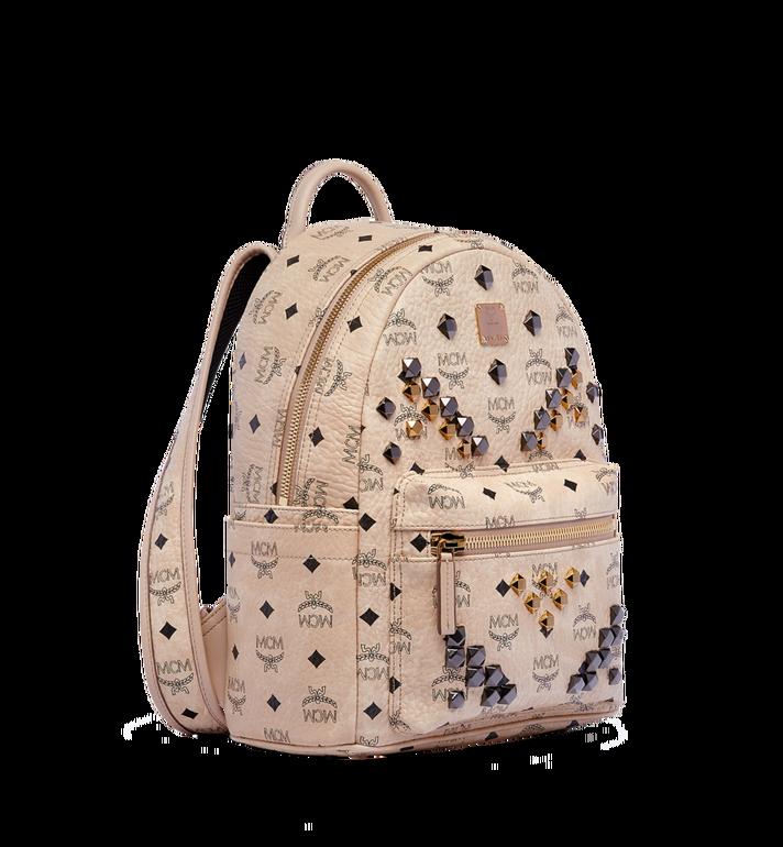 MCM Stark M Studs Backpack in Visetos Alternate View 2