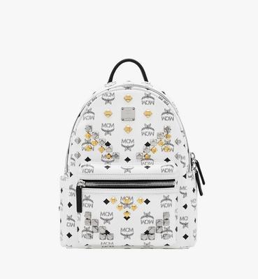 Stark M Studs Backpack In Visetos