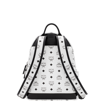 MCM Stark M Studs Rucksack in Visetos Alternate View 4