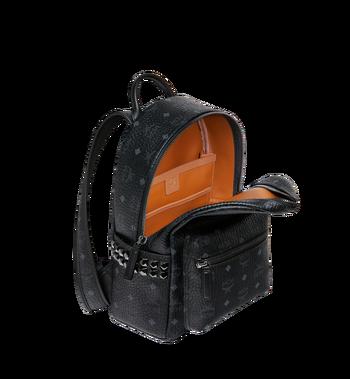 MCM Stark Side Studs Backpack in Visetos Black MMK6SVE37BK001 Alternate View 5