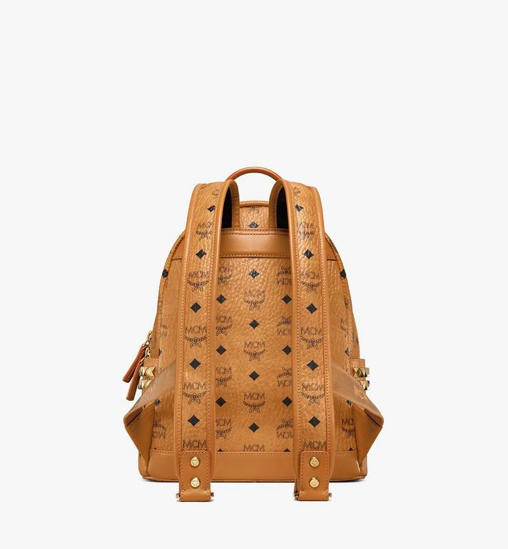 MCM Stark Side Studs Rucksack in Visetos Cognac MMK6SVE37CO001 Alternate View 4