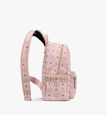 MCM Stark Backpack in Visetos Pink MMK6SVE37QH001 Alternate View 2