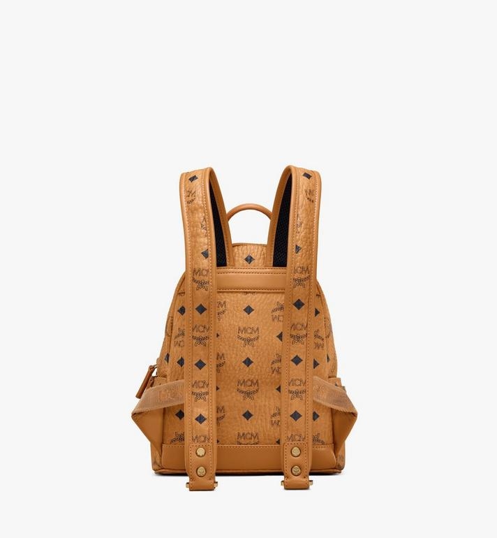 MCM Stark Side Studs Backpack in Visetos Cognac MMK6SVE41CO001 Alternate View 4