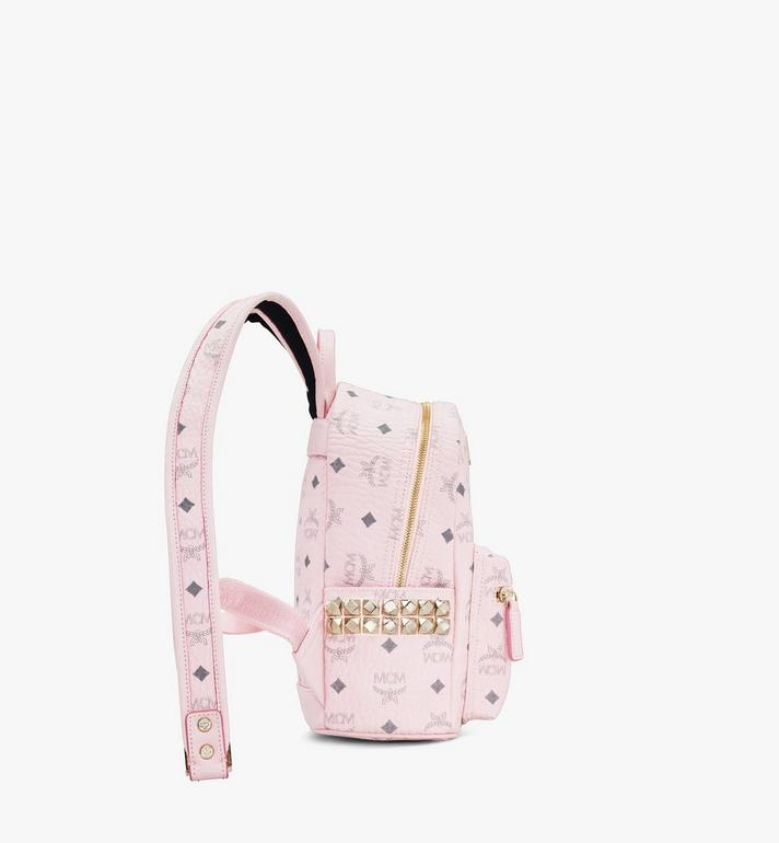 MCM Stark Backpack in Visetos Pink MMK6SVE41QH001 Alternate View 2