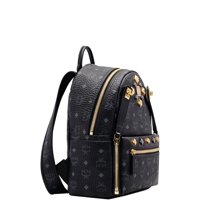 MCM Dual Stark Backpack in Visetos Alternate View 2