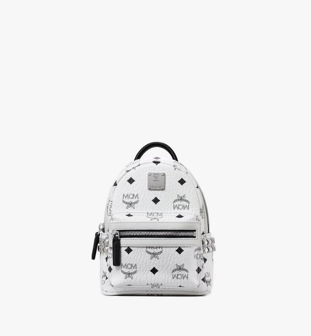 Stark Side Studs Bebe Boo Backpack in Visetos