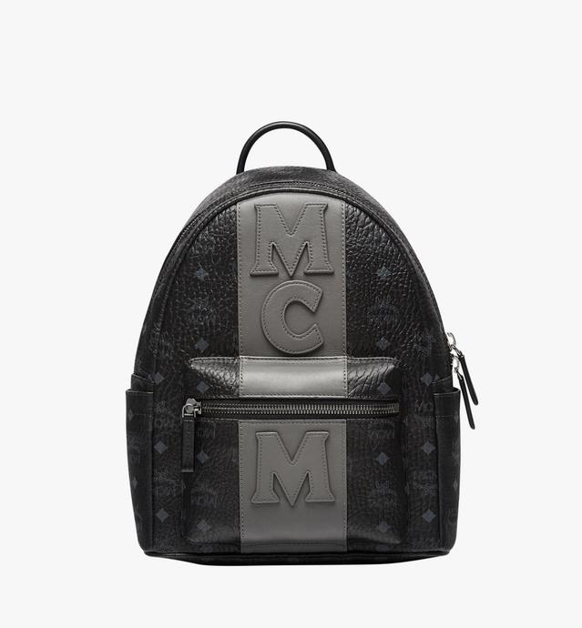 Stark Logo Stripe Backpack in Visetos