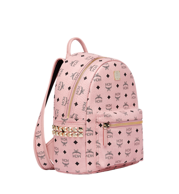 MCM Stark Side Studs Rucksack in Visetos Alternate View 2