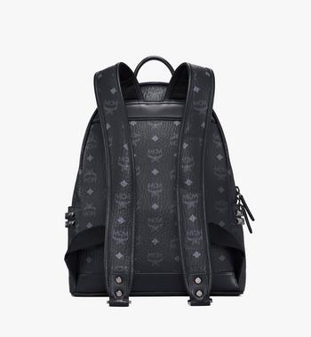 MCM Stark Side Studs Backpack in Visetos Black MMK7AVE99BK001 Alternate View 4
