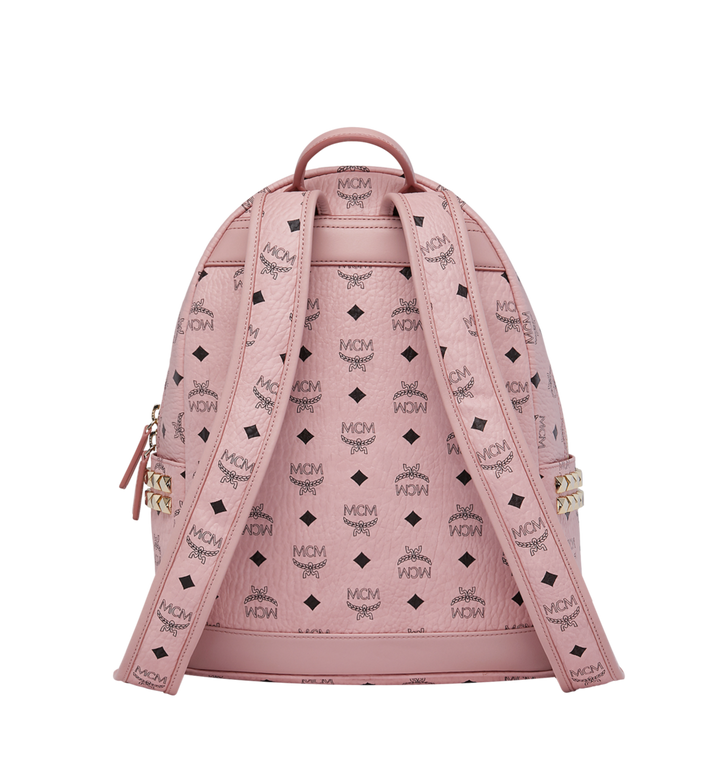 MCM Stark Side Studs Backpack in Visetos Pink MMK7AVE99PZ001 Alternate View 4