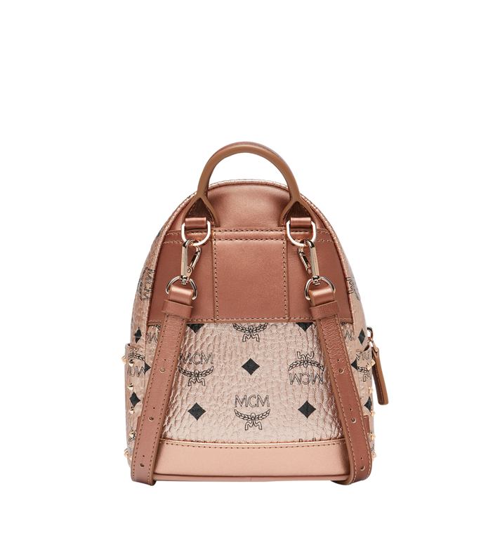 MCM Stark Bebe Boo Backpack in Studded Outline Visetos Gold MMK8AVE05TC001 Alternate View 5
