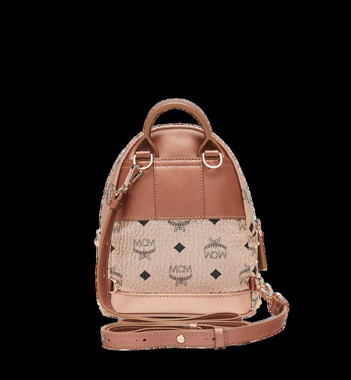 MCM Stark Bebe Boo Backpack in Studded Outline Visetos Gold MMK8AVE05TC001 Alternate View 6