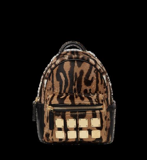Stark Bebe Boo Backpack in Leopard Haircalf