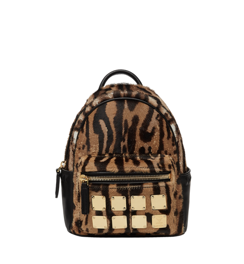 Stark Bebe Boo Backpack in Leopard Haircalf