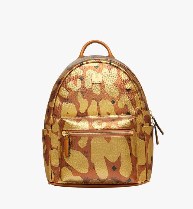 Stark Backpack in MCM Leopard Print
