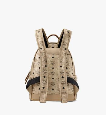 MCM Stark Rucksack in Visetos  MMK8AVE43T1001 Alternate View 3