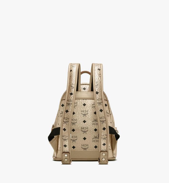 MCM Stark Backpack in Visetos Gold MMK8AVE47T1001 Alternate View 3