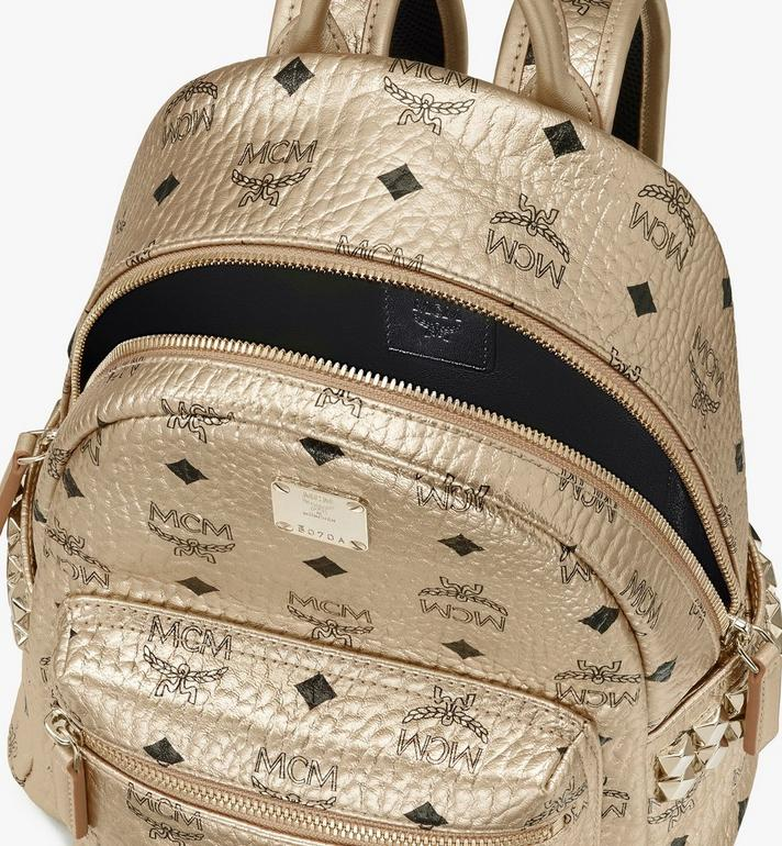 MCM Stark Backpack in Visetos Gold MMK8AVE47T1001 Alternate View 4