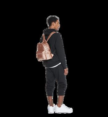 MCM Stark Side Studs Backpack in Visetos Alternate View 7